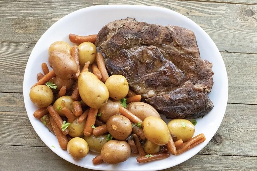 crock-pot roast beef