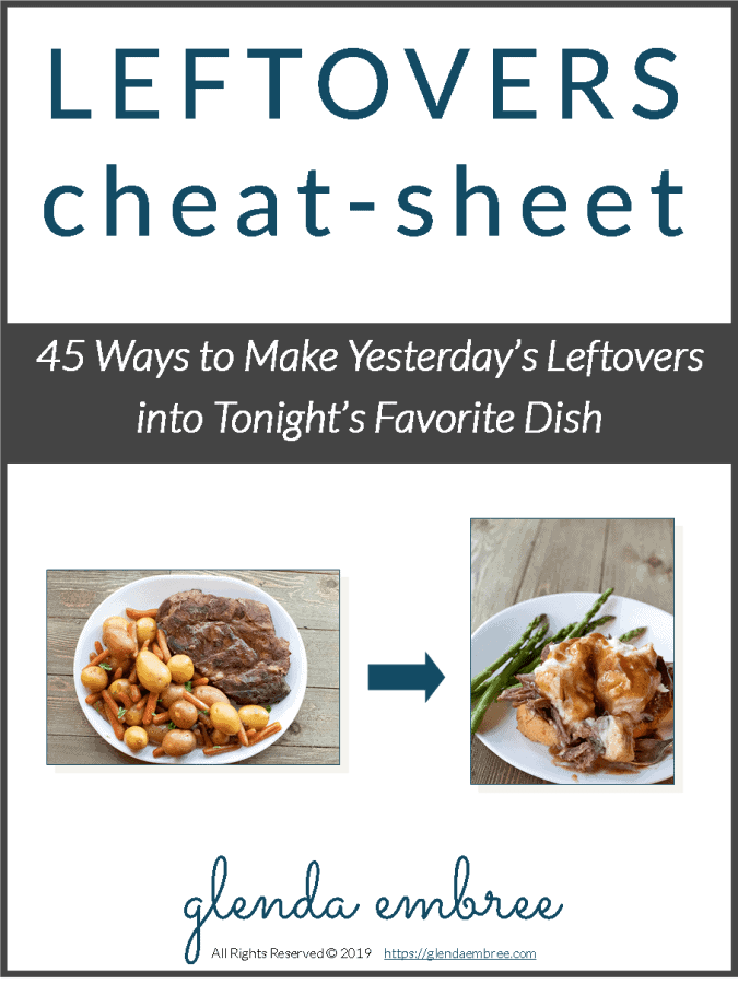leftovers cheat-sheet cover