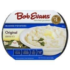 bob evans mashed potatoes