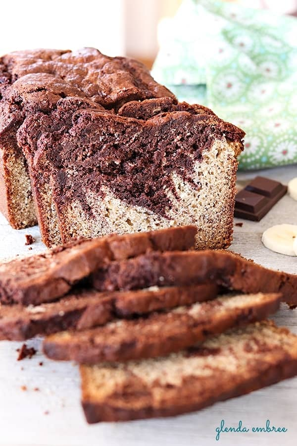 chocolate swirl banana bread