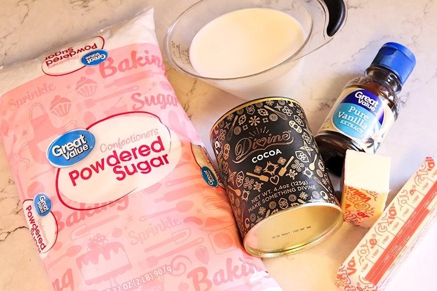 fudge frosting ingredients