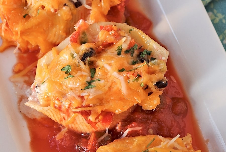 mexican-stuffed-pasta-shells