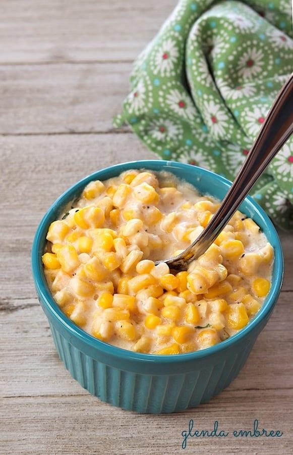 crock-pot creamed corn