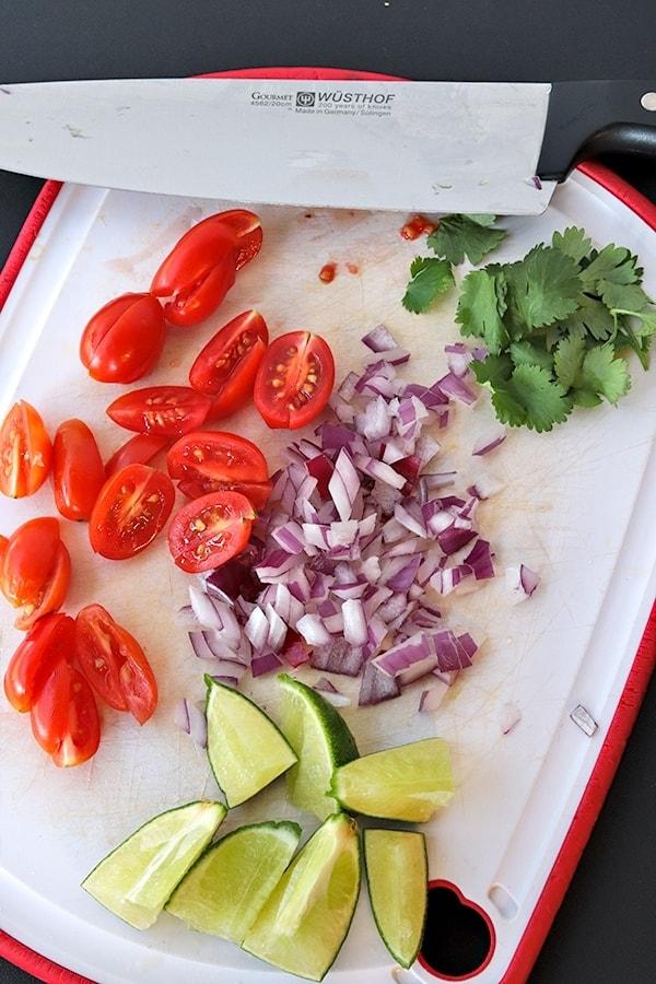toppings for Crock-Pot Pork Carnitas