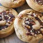 date and walnut filled cookies