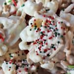 white chocolate no-bake cookies