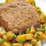 Pineapple Balsamic Pork Loin