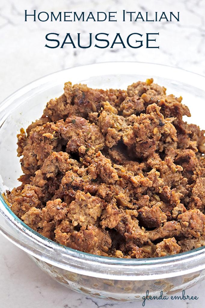 homemade sausage recipes - Italian sausage