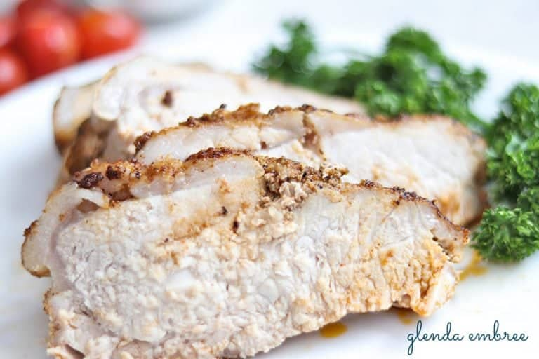 savory pork loin roast
