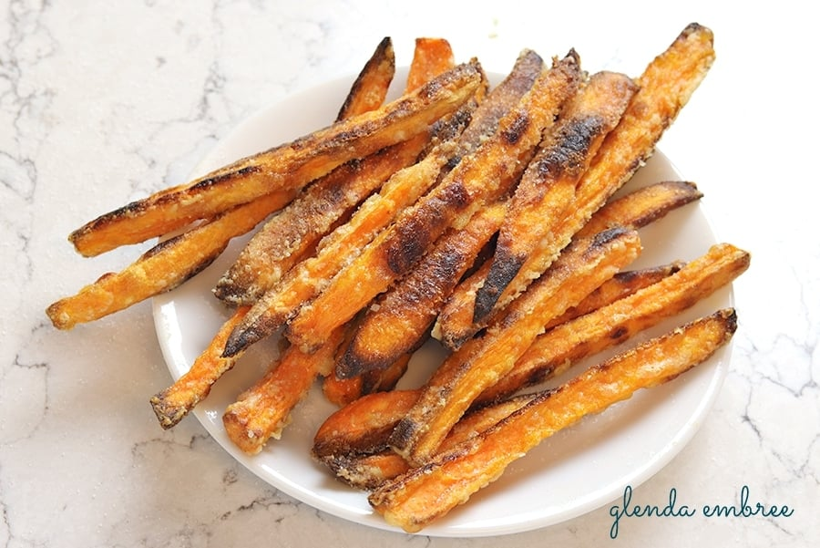 Sweet Potato Fries Easy Delish Crisp In The Oven Glenda Embree