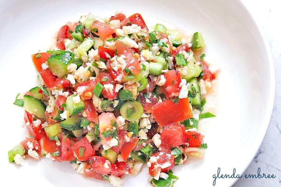 homemade Gluten-Free Tabbouleh Salad