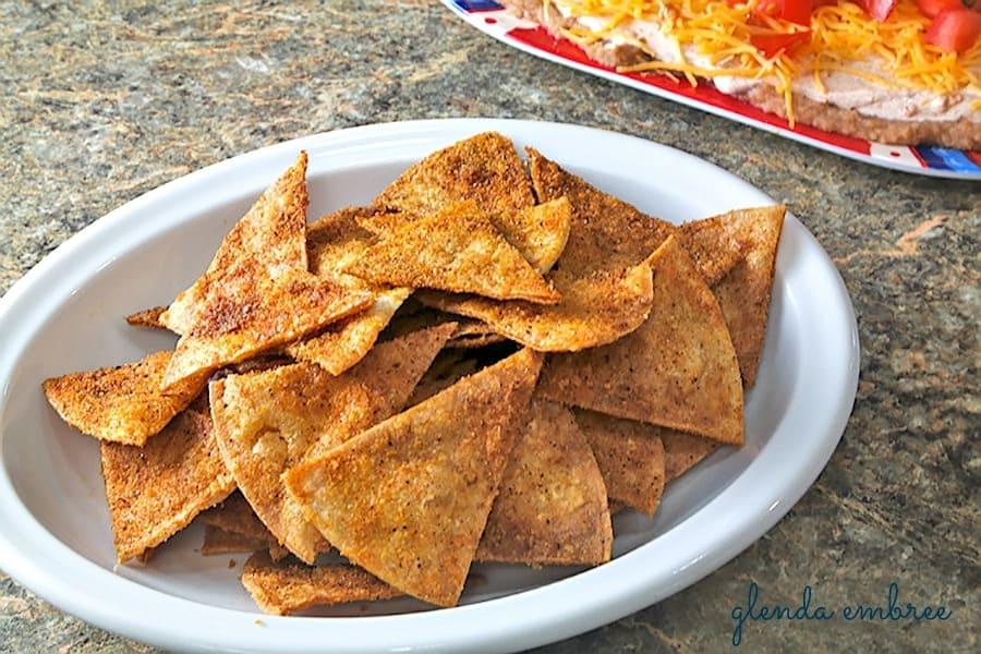 Homemade Taco Chips
