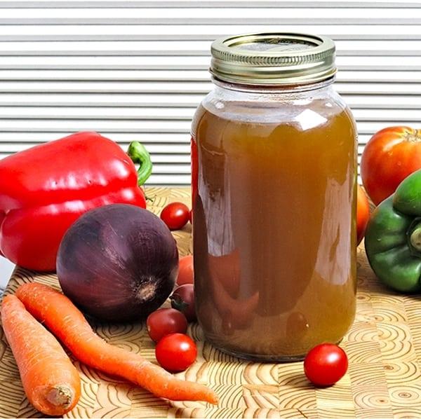 best homemade vegetable stock