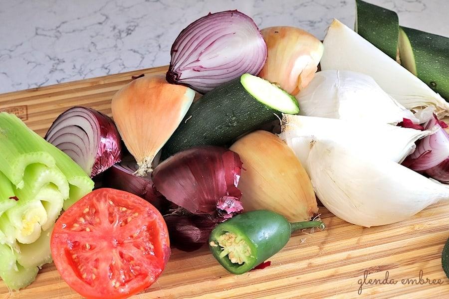 best homemade vegetable stock ingredients