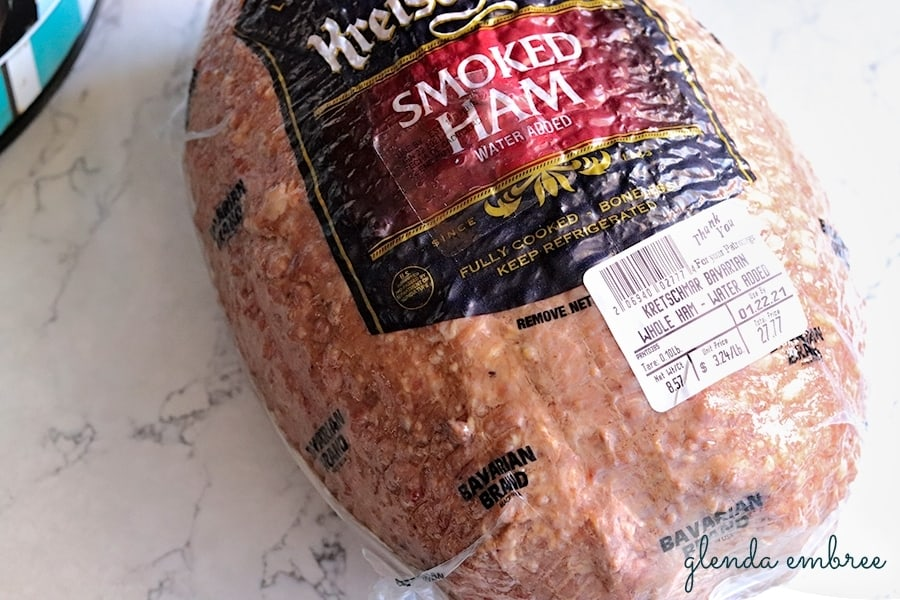 whole boneless smoked ham for Best Slow Cooker Ham